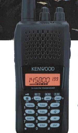 建伍K40A模拟显示屏对讲机