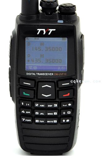 DM-UVF10双段DPMR大彩屏数字对讲机